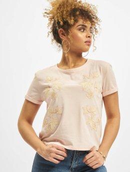 Mavi Jeans Tričká Embroidery  ružová