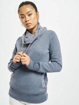 Mazine Pullover Laverton Heavy Tutrtle Neck blau