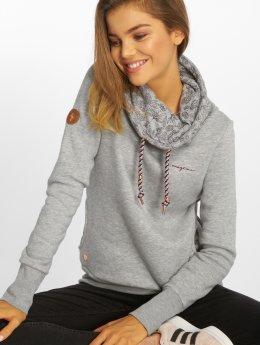 Mazine Pullover Laverton Heavy Tutrtle Neck  gray