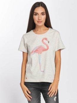 Mazine T-Shirt Xenia grau