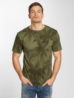 Mazine t-shirt Keyser Allover olijfgroen