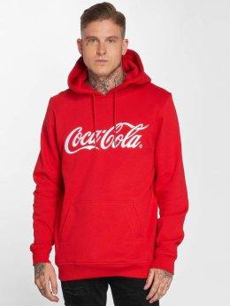 Merchcode Felpa con cappuccio Coca Cola Classic rosso