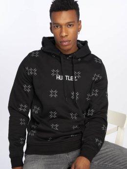 Merchcode Hoody Hustler AOP zwart
