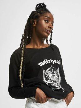 Merchcode Pullover Ladies Motörhead Everything Louder Wideneck black