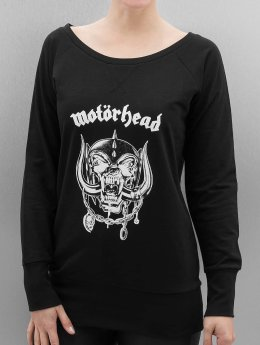 Merchcode Puserot Ladies Motörhead Everything Louder Wideneck musta