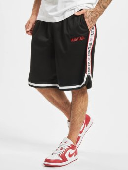 Merchcode Shorts Hustler Mesh svart