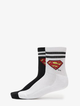 Merchcode Socken Double Pack Superman schwarz