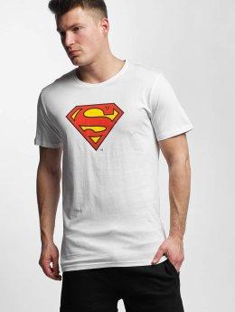 Merchcode T-paidat Superman Logo valkoinen