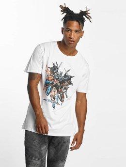 Merchcode T-Shirt Justice League blanc
