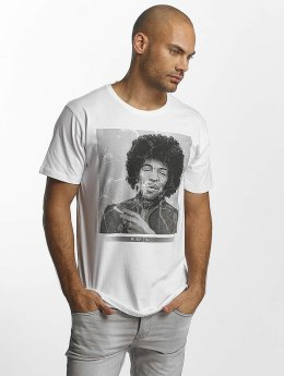 Merchcode T-Shirt Jimi Hendrix Purple Haze blanc