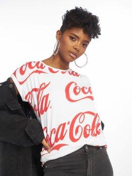 Merchcode T-Shirt Coca Cola blanc