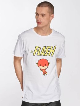 Merchcode T-Shirt The Flash Comic blanc