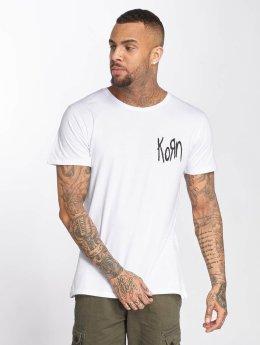 Merchcode T-Shirt Korn Suffering blanc