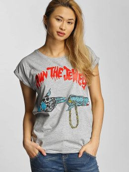 Merchcode T-Shirt Run The Jewels Goldchain grau