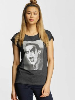 Merchcode t-shirt Robbie Williams Clown grijs