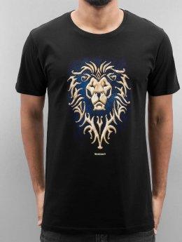 Merchcode T-Shirt Warcfraft Alliance noir