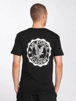 Merchcode T-Shirt Air Force Academy Logo noir