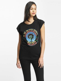 Merchcode Frauen T-Shirt Grateful Dead Head in schwarz