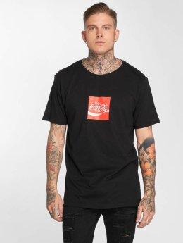Merchcode T-Shirt Coca Cola Taste The Feeling schwarz
