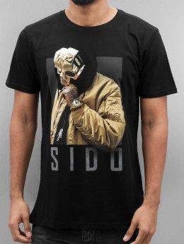Merchcode t-shirt Sido Geuner zwart