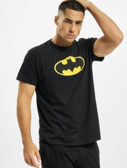 Merchcode t-shirt Batman Logo zwart