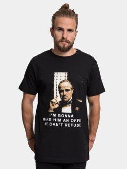 Merchcode t-shirt Godfather Refuse zwart