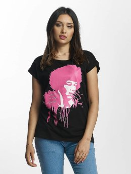 Merchcode t-shirt Jimi Hendrix Music Is My Religion zwart
