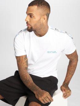 Merchcode T-skjorter Hustler Sidetape hvit
