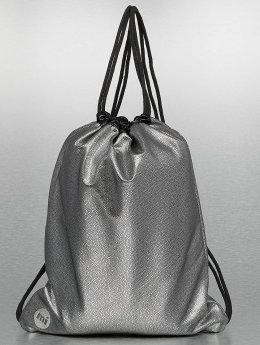 Mi-Pac Pouch Pebbled silver colored