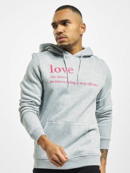 Mister Tee Hoody Love Definition grau
