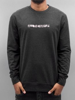 Mister Tee Pullover All The Way Up grau