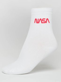 Mister Tee Sukat NASA Worm Logo valkoinen