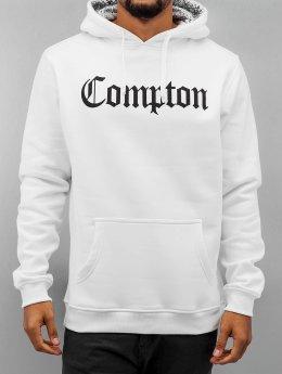 Mister Tee Sweat capuche Compton Hooded Bandana blanc