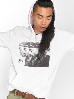 Mister Tee Sweat capuche 2Pac blanc
