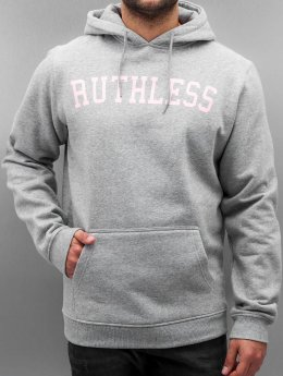 Mister Tee Sweat capuche Ruthless gris