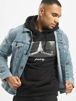 Mister Tee Sweat capuche Pray noir