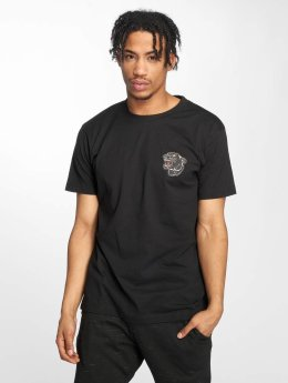 Mister Tee T-paidat Embroidered musta