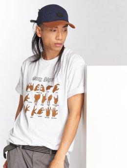 Mister Tee T-paidat Gang Signs valkoinen
