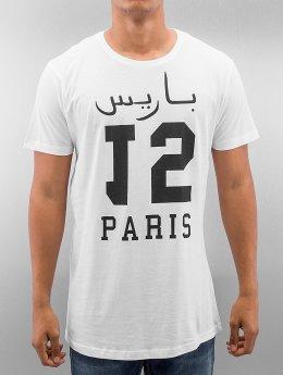 Mister Tee T-Shirt Paris 15 Long blanc