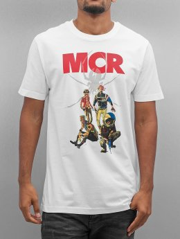 Mister Tee T-Shirt MY Chemical Romance Killjoys Pinup blanc