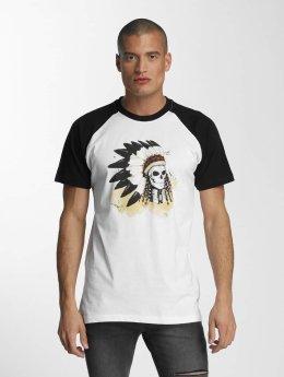 Mister Tee T-Shirt Dead Indian blanc