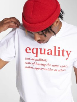 Mister Tee T-Shirt Equality blanc