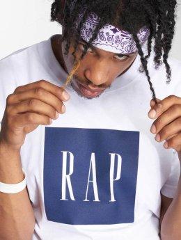 Mister Tee T-Shirt Rap Tee blanc