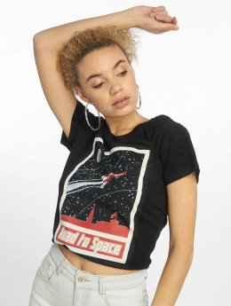 Mister Tee T-Shirt Road To Space noir