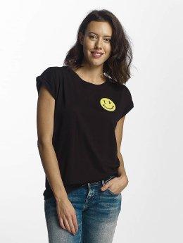 Mister Tee T-Shirt LA Smile schwarz