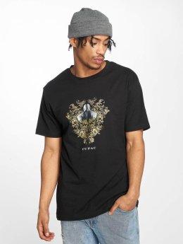 Mister Tee T-Shirt Tupac Ornaments schwarz