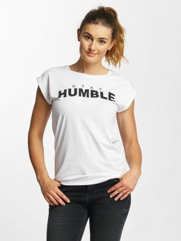 Mister Tee T-Shirt Stay Humble weiß