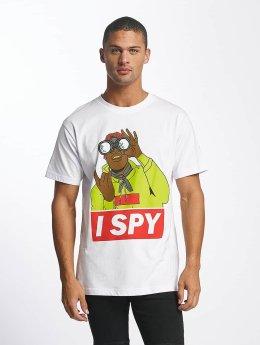 Mister Tee T-Shirt I Spy weiß