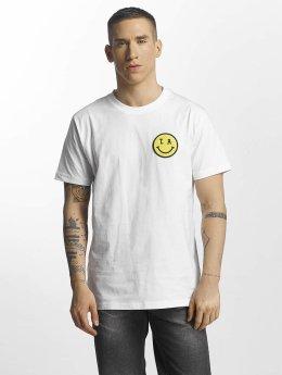 Mister Tee T-Shirt LA Smile weiß