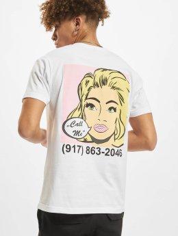 Mister Tee T-Shirt Call Me weiß